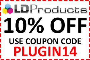 LD Products Coupon Code PLUGIN14 Saves 10% plus Free Shipping on all orders over $49. Save as much at 75% over retail prices.