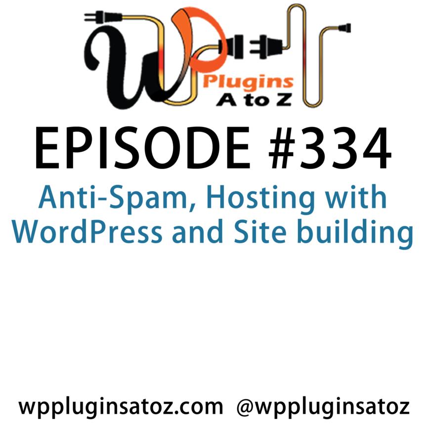 WordPress Plugins A-Z #334 Anti-Spam