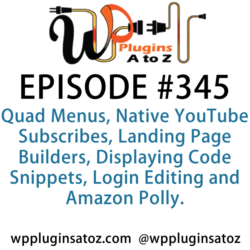 WordPress Plugins A-Z #345 Landing Page Builders
